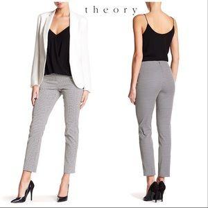Theory Navalane pants - Arlington triangle pattern